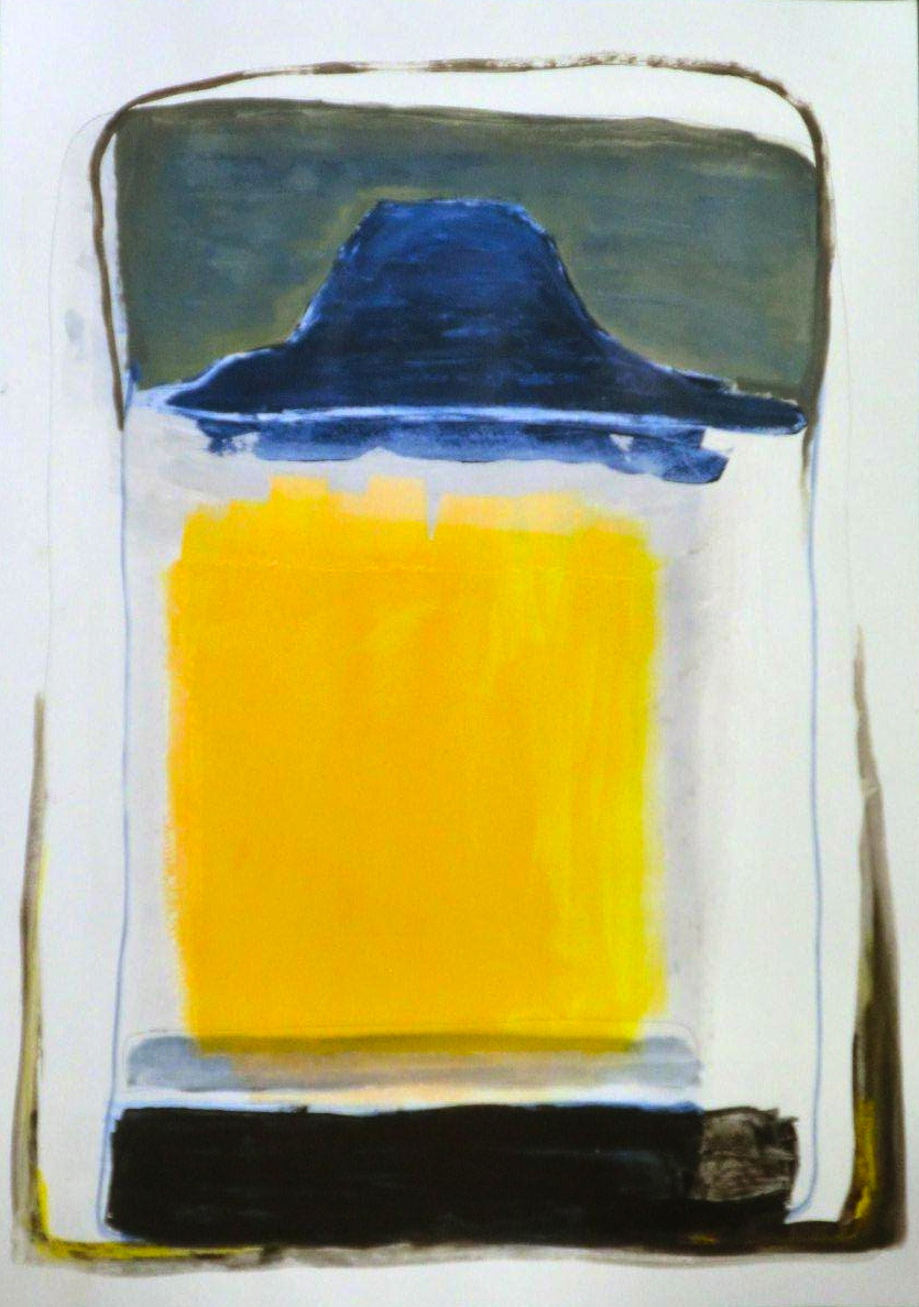 Maiti Chagny_Acrylic on Paper_102 x 72 cm